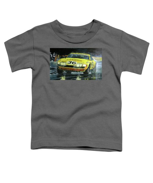 1972 Lemans 24 Ferrari 365 Gtb Bell Pilette Bond Toddler T-Shirt