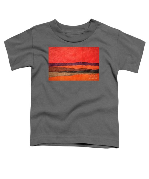 Abstract Landscape Toddler T-Shirt