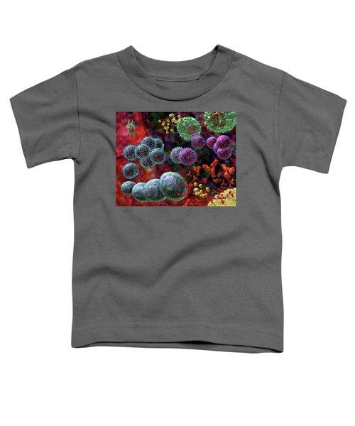 Immune Response Antibody 4 Toddler T-Shirt