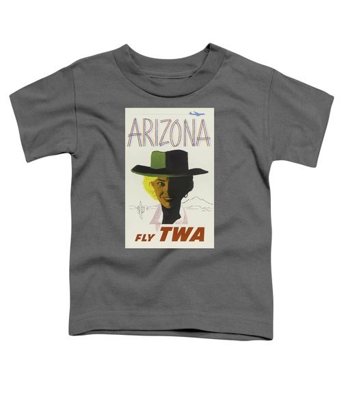 Vintage Travel Poster - Arizona Toddler T-Shirt