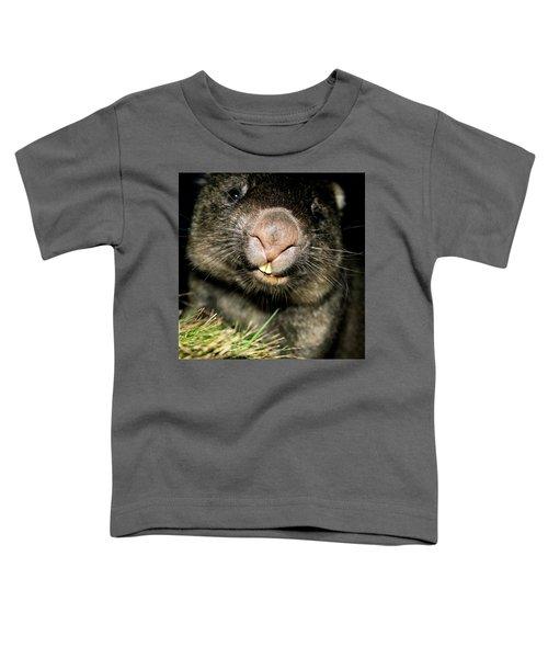 Wombat At Night Toddler T-Shirt
