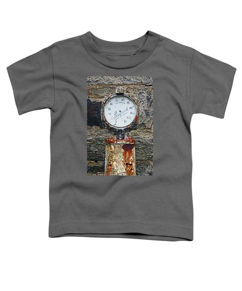 25/08/14. Lochearnhead. Old Tyre Pump. Toddler T-Shirt