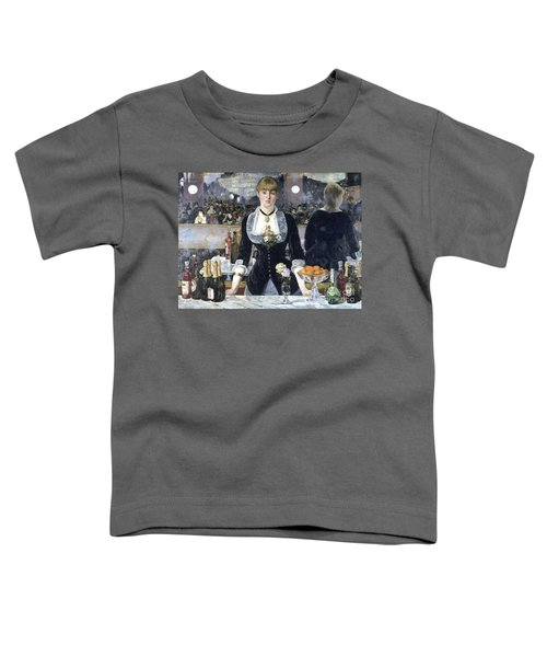 A Bar At The Folies Bergere Toddler T-Shirt