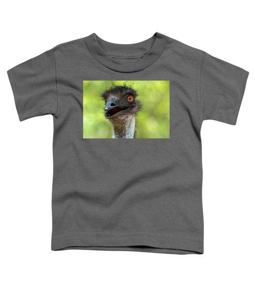 Australian Emu Outdoors Toddler T-Shirt