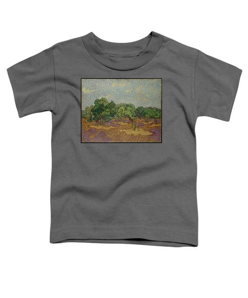 Olive Trees, 1889 Toddler T-Shirt