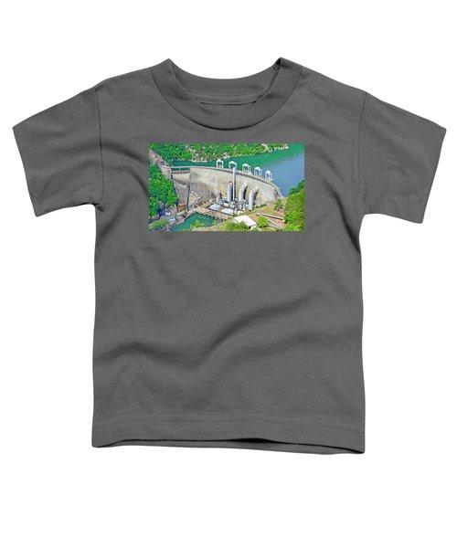 Smith Mountain Lake Dam Toddler T-Shirt