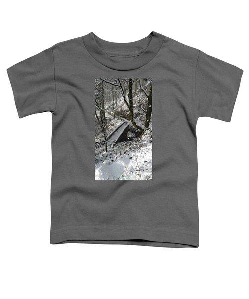 30/01/19  Rivington. Cascade Bridge. Toddler T-Shirt