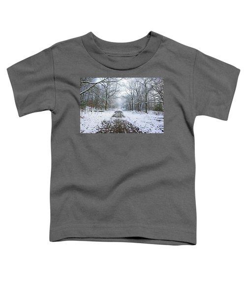 30/01/19  Rivington. Lower Barn. Arboretum Path. Toddler T-Shirt