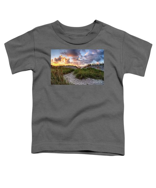48th Ave. Sunrise North Myrtle Beach Toddler T-Shirt
