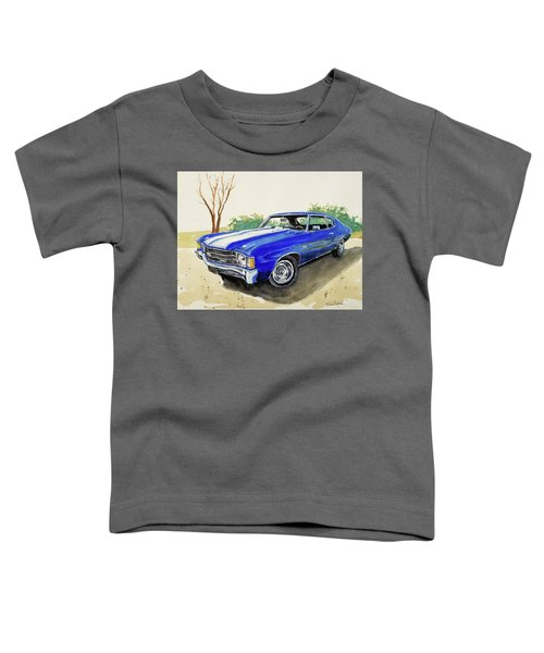 '72 Chevy Ss Toddler T-Shirt