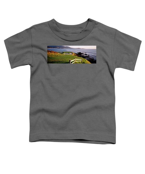 7th Hole At Pebble Beach Golf Links Toddler T-Shirt