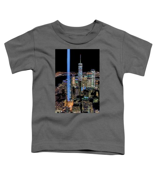 911 Lights Toddler T-Shirt