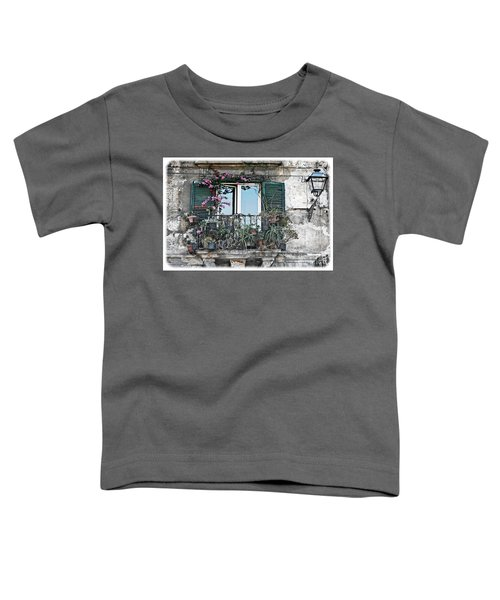 A Balcony In Palermo Toddler T-Shirt
