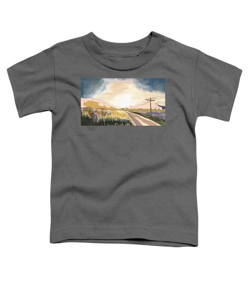 A Country Road Toddler T-Shirt