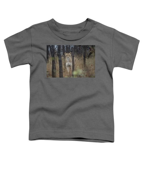 A Lioness In The Trees Toddler T-Shirt