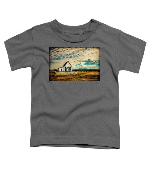 A Lone Prairie Church Toddler T-Shirt