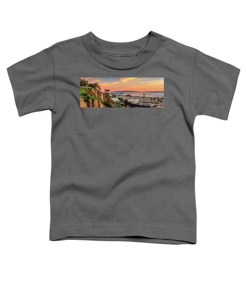 A Nice Evening In The Park - Panorama Toddler T-Shirt