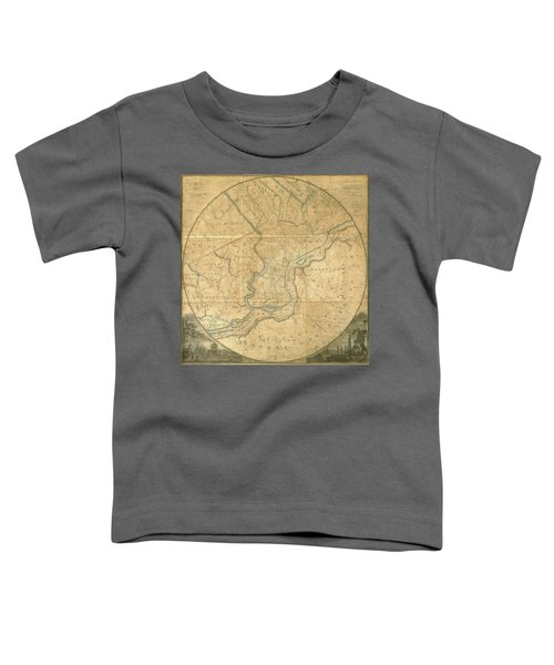 A Plan Of The City Of Philadelphia And Environs, 1808-1811 Toddler T-Shirt