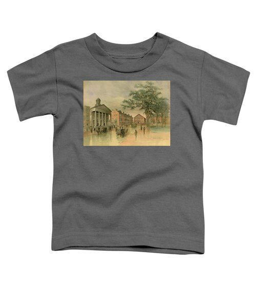 A Southwestern View Of Washington Square Toddler T-Shirt