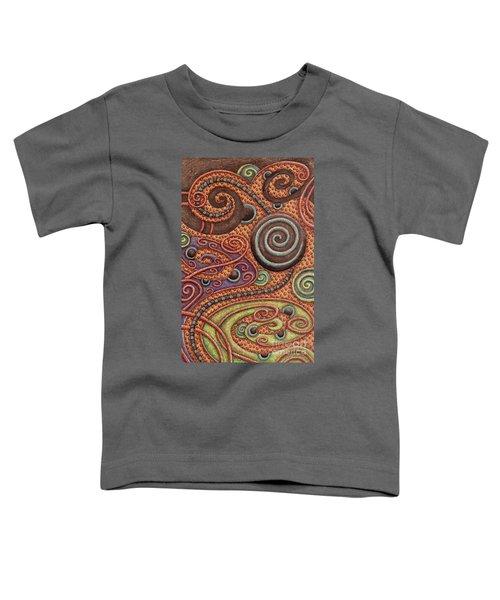 Abstract Spiral 5 Toddler T-Shirt