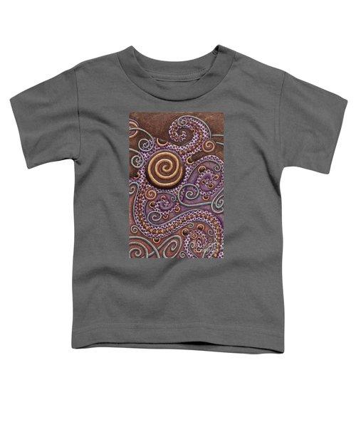 Abstract Spiral 8 Toddler T-Shirt