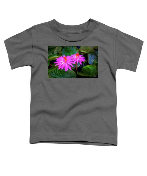 Abstracted Water Lilies Toddler T-Shirt