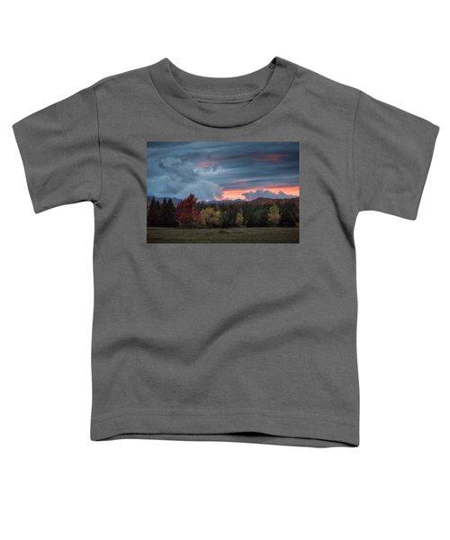 Adirondack Loj Road Sunset Toddler T-Shirt