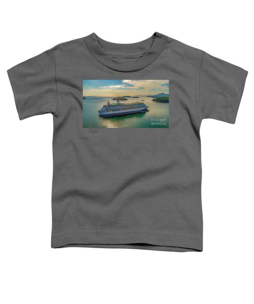 Adventure Of The Seas, Bar Harbor  Toddler T-Shirt
