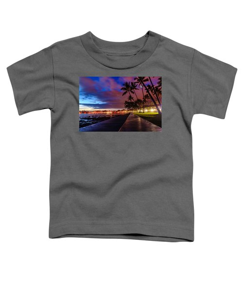 After Sunset At Kona Inn Toddler T-Shirt