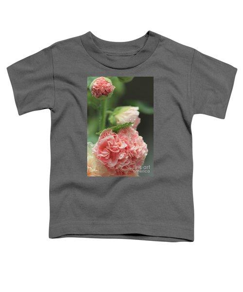 Alcea Rosea Toddler T-Shirt