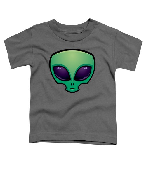 Alien Head Icon Toddler T-Shirt