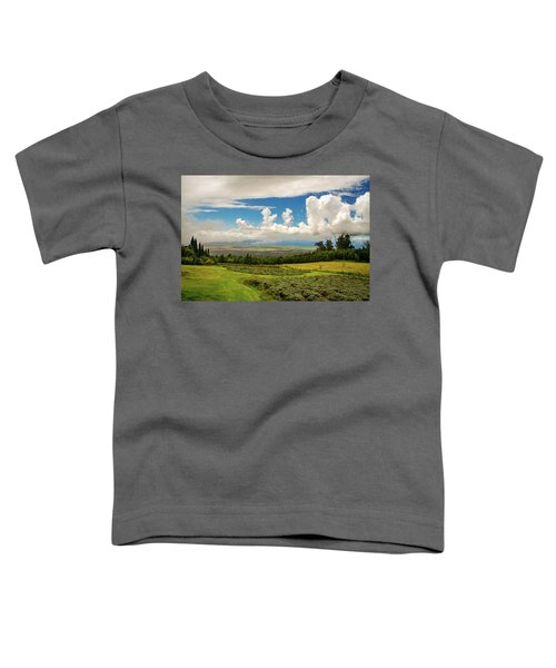 Alii Kula Lavender Farm Toddler T-Shirt