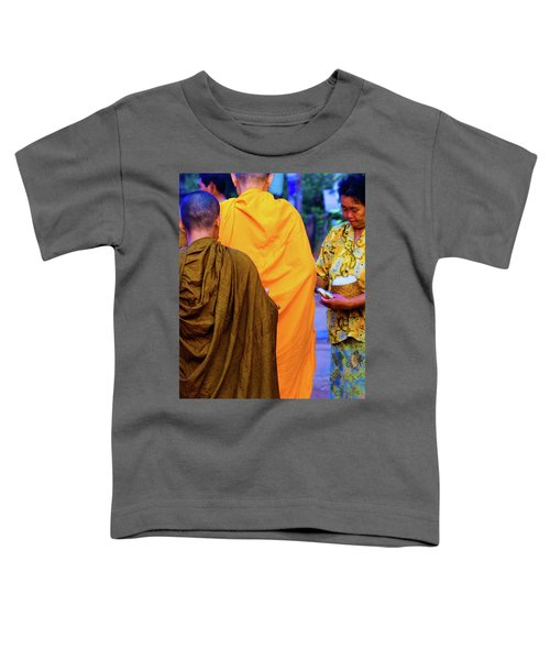Alms For The Monks Toddler T-Shirt