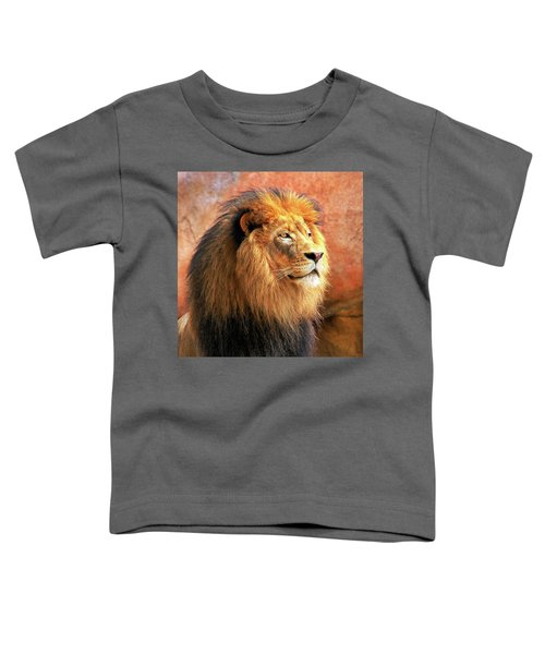 Alpha Male Lion Toddler T-Shirt
