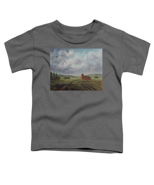 American Scene Red Barn  Toddler T-Shirt