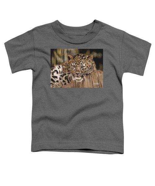 Amur Leopard Cub Toddler T-Shirt