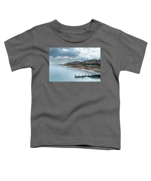 An English Beach Toddler T-Shirt