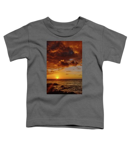 And Then The Sun Set Toddler T-Shirt