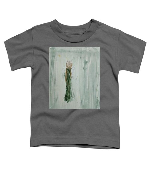 Angel In Green Toddler T-Shirt