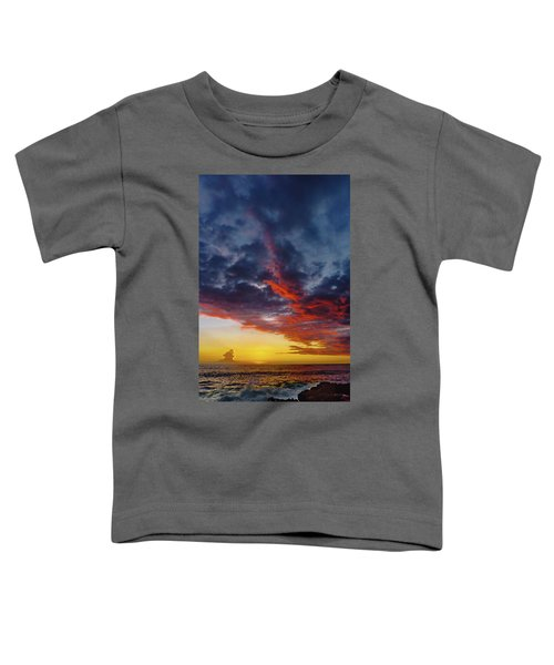 Another Colorful Sky Toddler T-Shirt