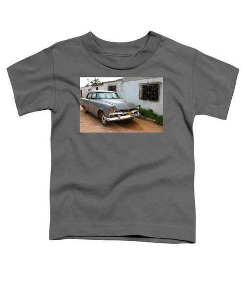 Antique Car Grey Cuba 11300501 Toddler T-Shirt