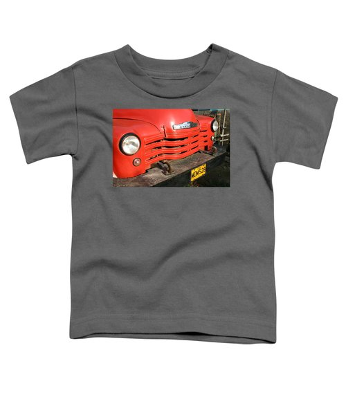 Antique Truck Red Cuba 11300502 Toddler T-Shirt