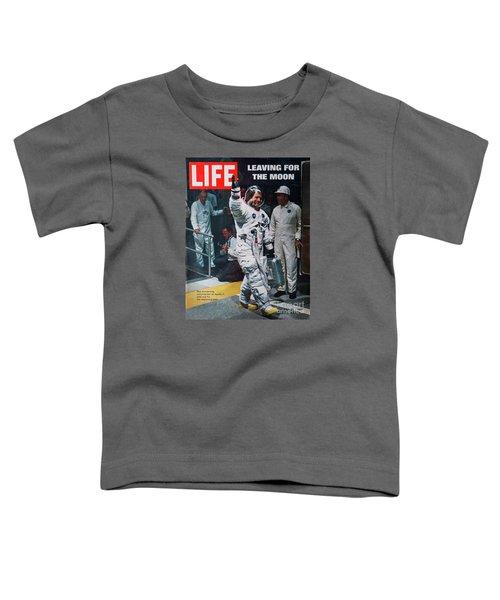 Apollo 11 Life Magazine Cover Toddler T-Shirt