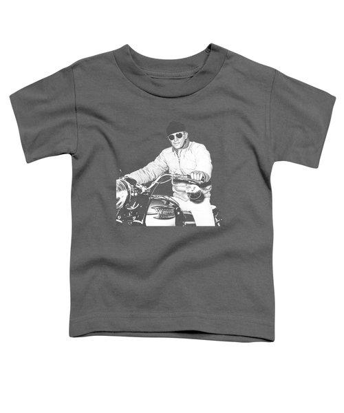 Steve Mcqueen Triumph Toddler T-Shirt