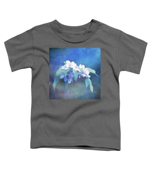 Painted Crabapple Blossoms Toddler T-Shirt