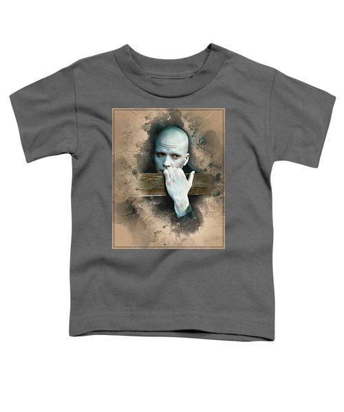 Flanery As Powder Watercolor  Toddler T-Shirt