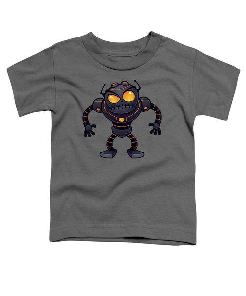 Angry Robot Toddler T-Shirt