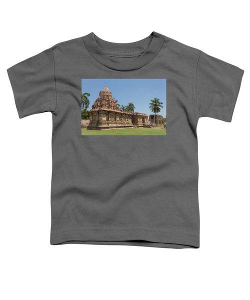 Asia, India, Tamil Nadu, Gangaikonda Cholapuram, Brihadisvara Temple Toddler T-Shirt