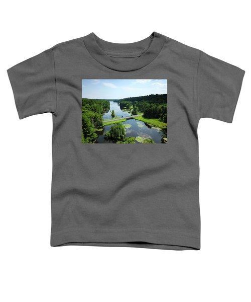 Aspetuck Reservoir Toddler T-Shirt