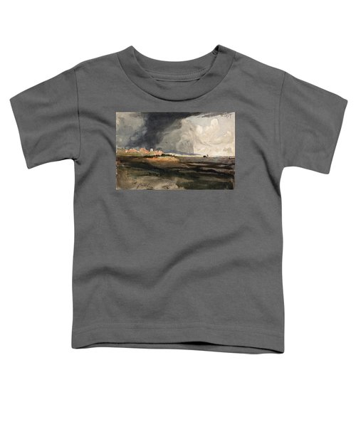 At Hailsham, Sussex, A Storm Approaching - Digital Remastered Edition Toddler T-Shirt